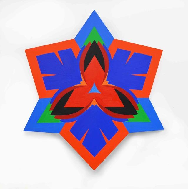 Jack Youngerman, 'Foil Blue II', 2018, DC Moore Gallery