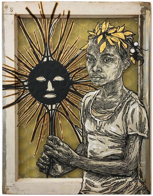 Swoon, 'Edline', 2018, Black Book Gallery