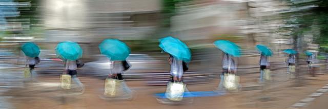 Eitan Vitkon, 'Blue Umbrella', ca. 2008, Corridor Contemporary
