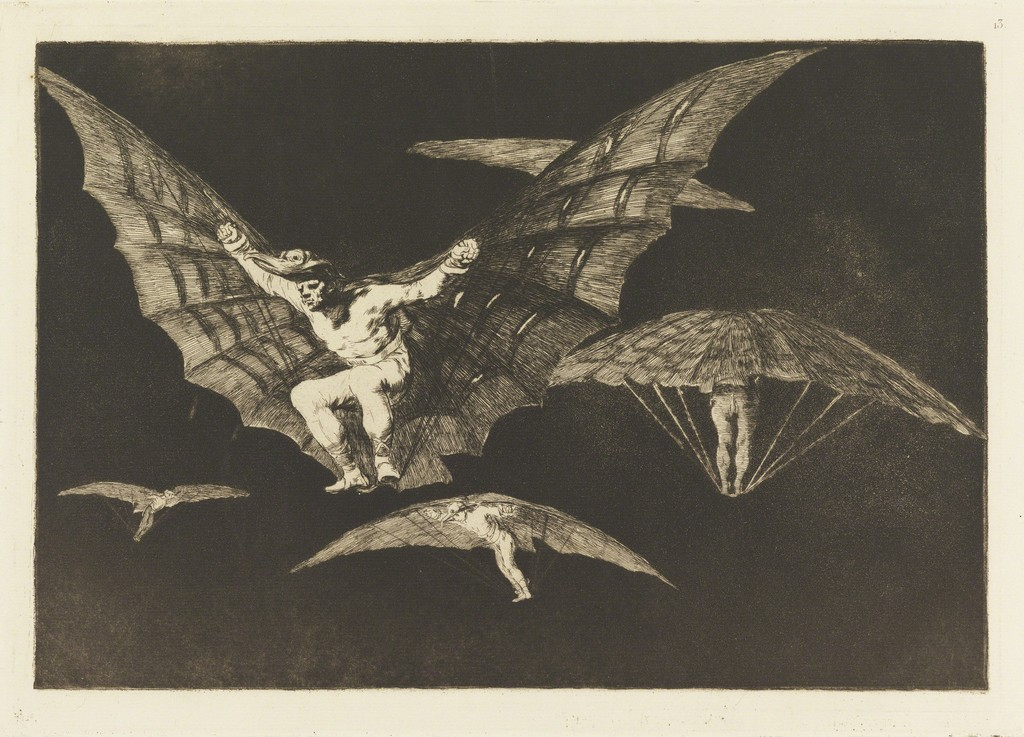 "Manner of Flying, plate 13 in ""Proverbs"""