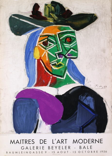 Pablo Picasso, 'Woman with Hat', 1956, ArtWise
