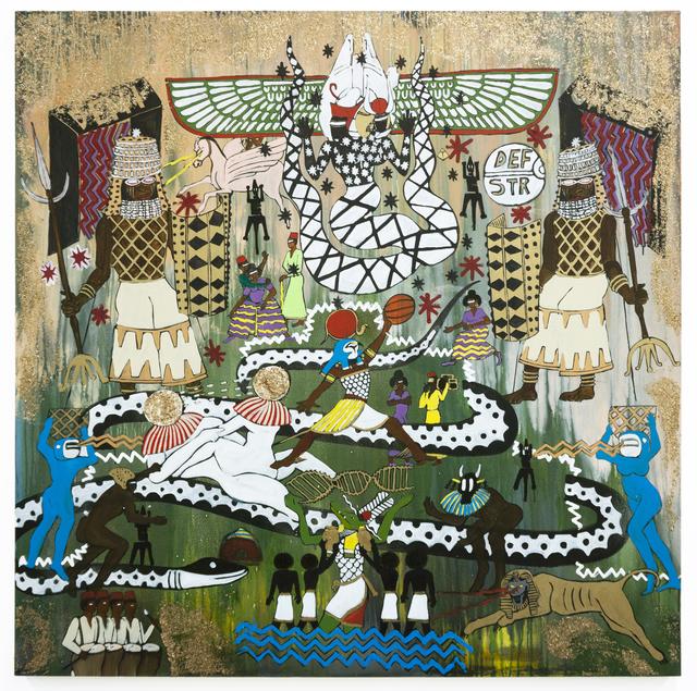 , 'acrylic on canvas,' 2018, Zevitas Marcus