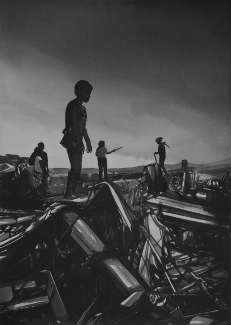 , '2013, November 3 - Aftermath of Typhoon Haiyan in Philippines (from the Series University of Disaster),' 2018, Christine König Galerie