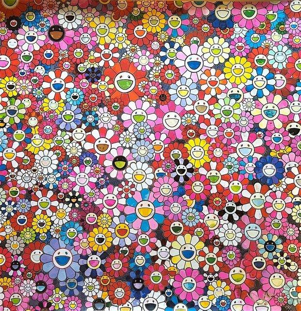 Takashi Murakami, 'Shangri-la pink', 2016, Print, Offset Print, uJung Art Center