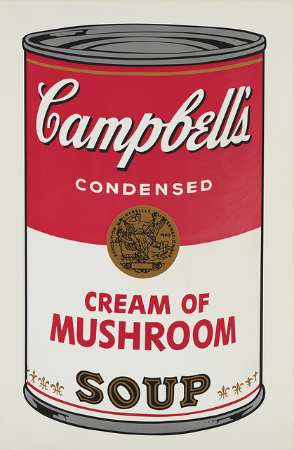 Andy Warhol, 'Cream of Mushroom, from Campbell's Soup I', 1968, Phillips