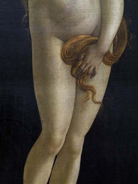 Reinhard Gorner, 'Detail from: Venus, Sandro Botticelli Workshop, Painting Gallery, Berlin', 2008, Undercurrent Projects