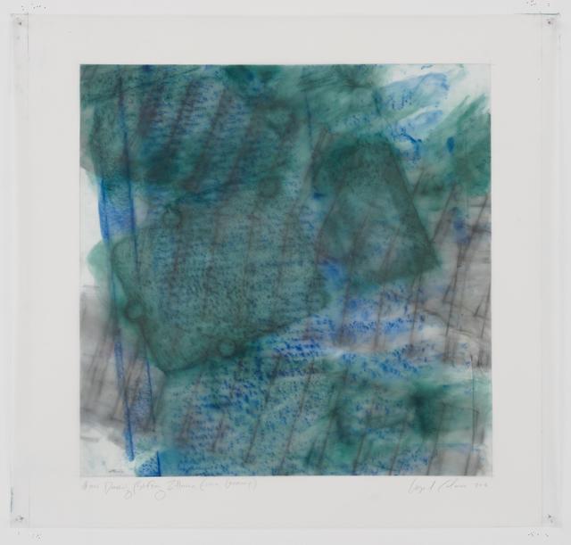 , '#1018 Drawing  (Stiftung Zollverein, Essen, Germany),' 2015, Galerie Anke Schmidt