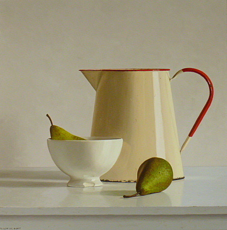 , 'Can, bowl and two pears,' 2014, Smelik & Stokking Galleries