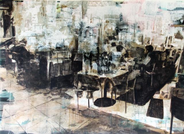 , 'Comensales,' 2019, Galería Casa Lamm