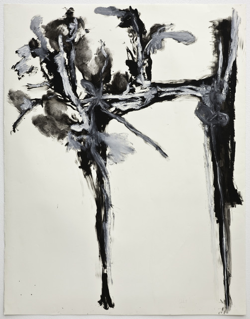 , 'Large black and white flower #1,' 2011, Ivorypress