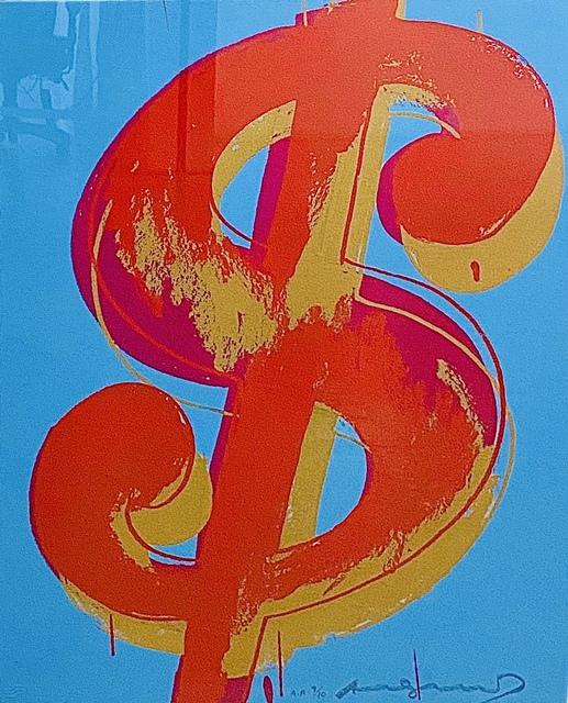 Andy Warhol, '$(1)  (FS.IIA. 283-284)', 1982, Print, Silkscreen on Lenox Museum Board, Taglialatella Galleries