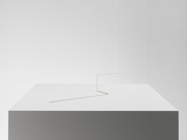 , 'Raumplastik Weiss,' 1975, Dierking