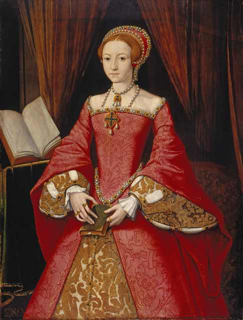 Guillaume Scrots, 'Elizabeth I when a Princess ', ca. 1546, Royal Collection Trust