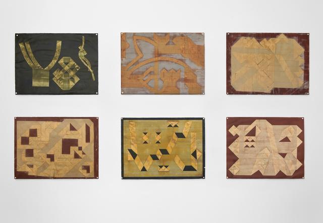 , 'Folded Tape Releifs,' 1987, Simone DeSousa Gallery
