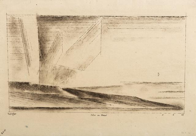 Lyonel Feininger, 'Düne am Abend (Dune at Evening)', 1928, Moeller Fine Art