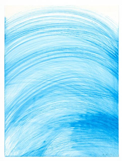 Heidi Bucher, 'Untitled (Wasserzeichnung / Water drawing)', 1985, Lehmann Maupin