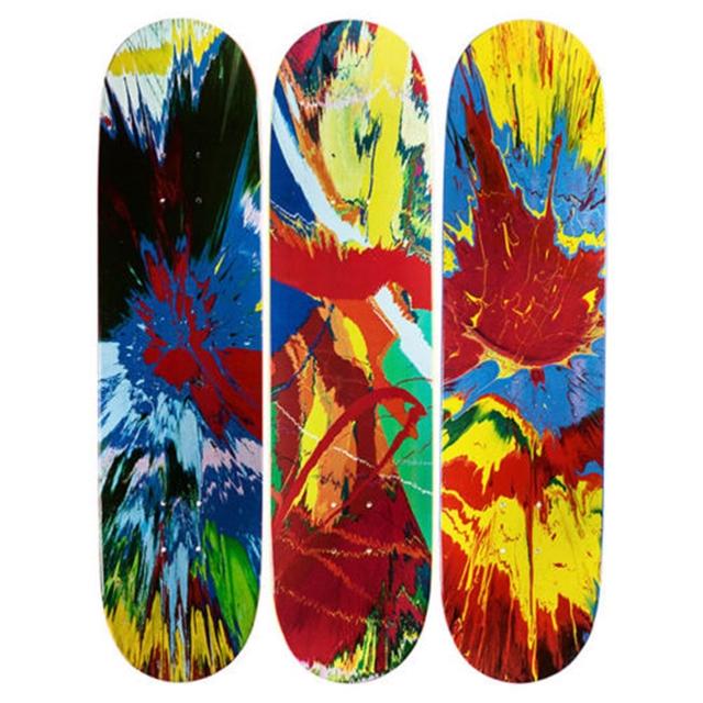 , 'Set of Three (3) Spin Skate Boards - Skateboard Triptych,' 2008, Alpha 137 Gallery