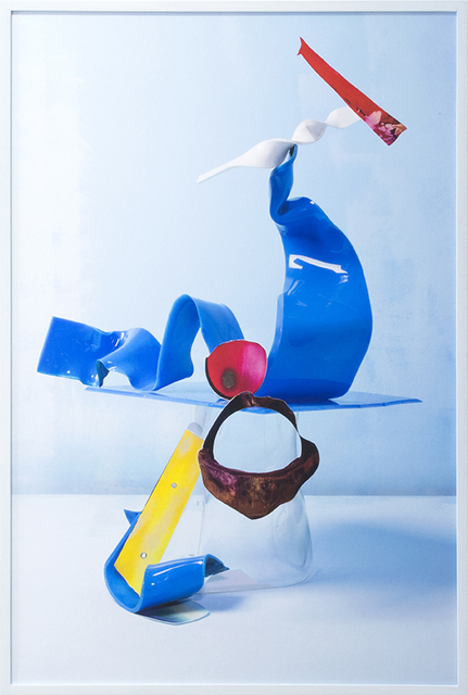 , 'Untitled - Burned Debris & Blue #1,' 2016, Viasaterna