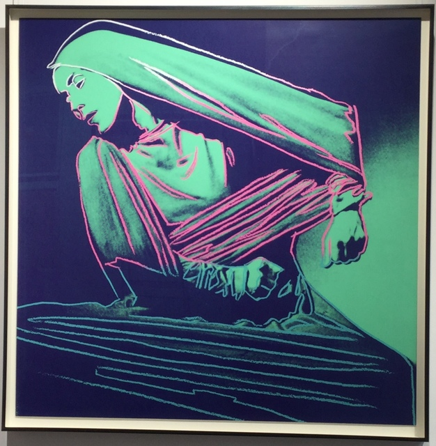 Andy Warhol, 'Lamentation (unique trial proof from the Martha Graham suite)', 1986, Joseph Fine Art LONDON