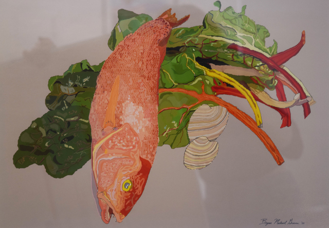 , 'Red Snapper,' 2003, Fountain House Gallery