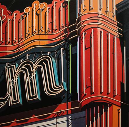 Robert Cottingham, 'M', 2009, Taglialatella Galleries