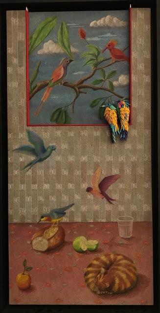 , 'Birds in theWindow,' 2017, Adelson Galleries