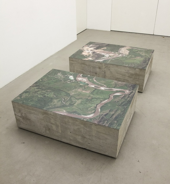 Carolina Caycedo, 'Dammed Landscape (Dyptych),' 2013, Instituto de Visión