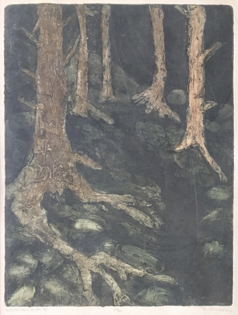 , 'Woodland Path,' Late 20th c., Bakker Gallery