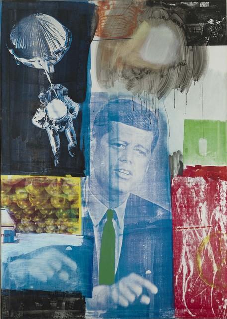 Robert Rauschenberg, 'Retroactive I', 1963, Oil and silkscreen ink on canvas, Robert Rauschenberg Foundation
