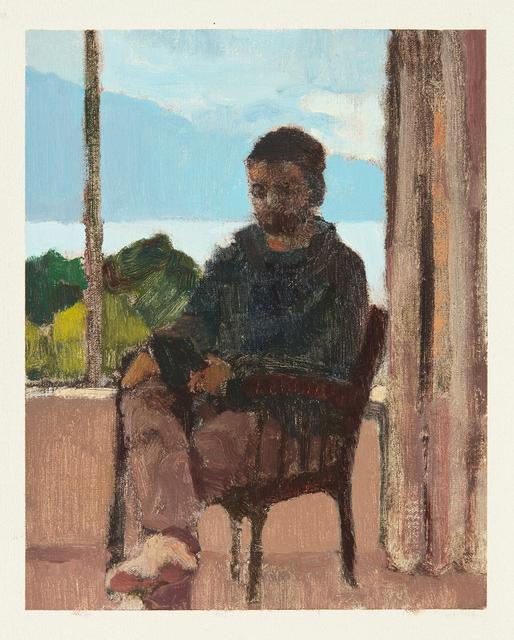 Ian Grose, 'matt reading oryx & crake by the window, queenstown ', 2014, Stevenson