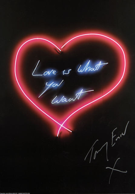 Tracey Emin, 'The Neons', Tate Ward Auctions