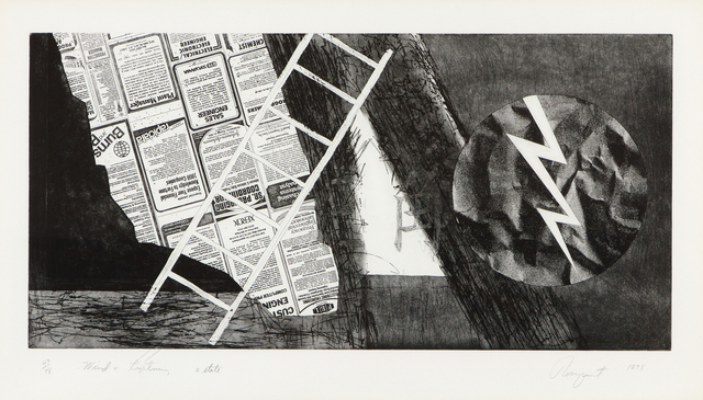 James Rosenquist, 'Wind and Lightning', 1978, Heather James Fine Art