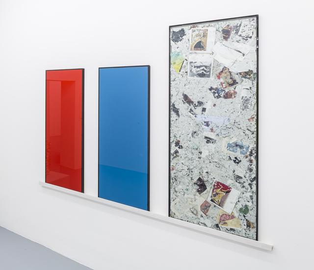 , 'Rot Blau Wasch,' 1996, Mai 36 Galerie