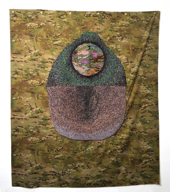 , 'Pattern for a Yurt III,' 2016, Geary