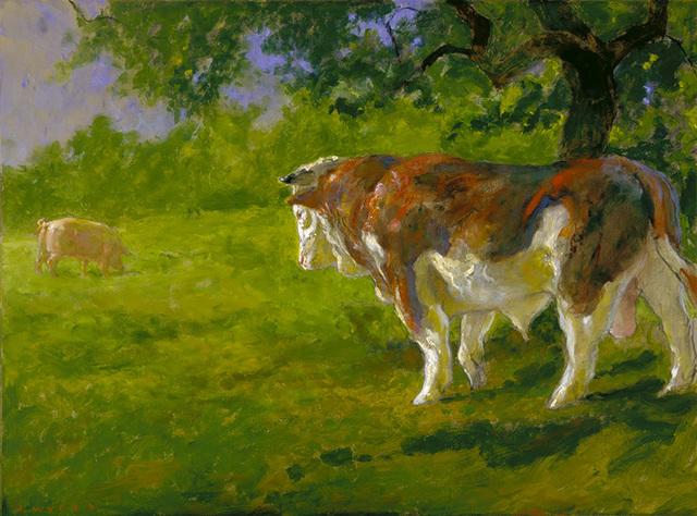 , 'Bullfight,' 2009, Somerville Manning Gallery