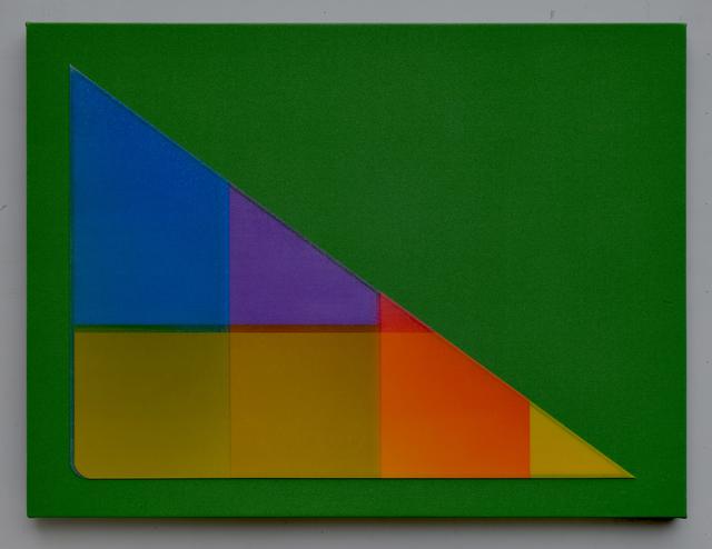 , 'Green Gravity,' 2018, Gallery Jones