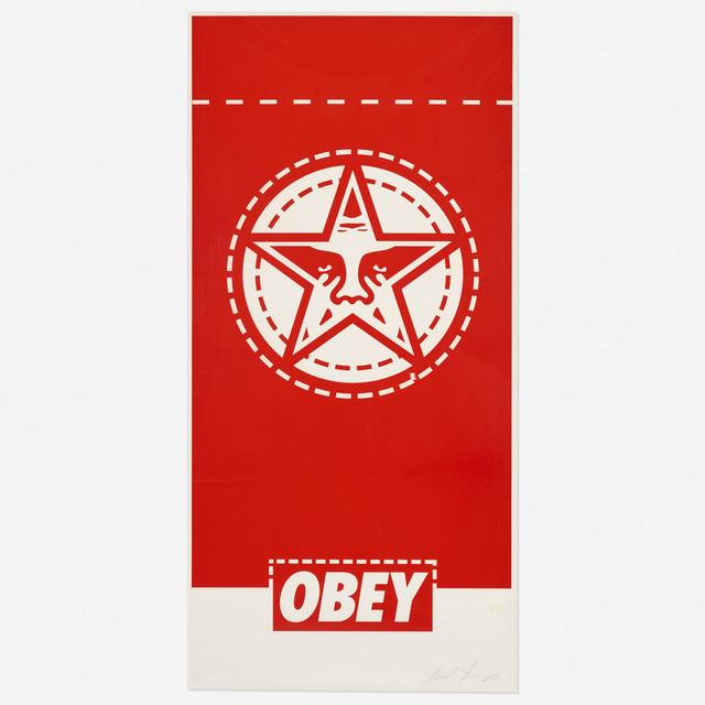 Shepard Fairey (OBEY), 'Obey Banner', 2000, Rago/Wright