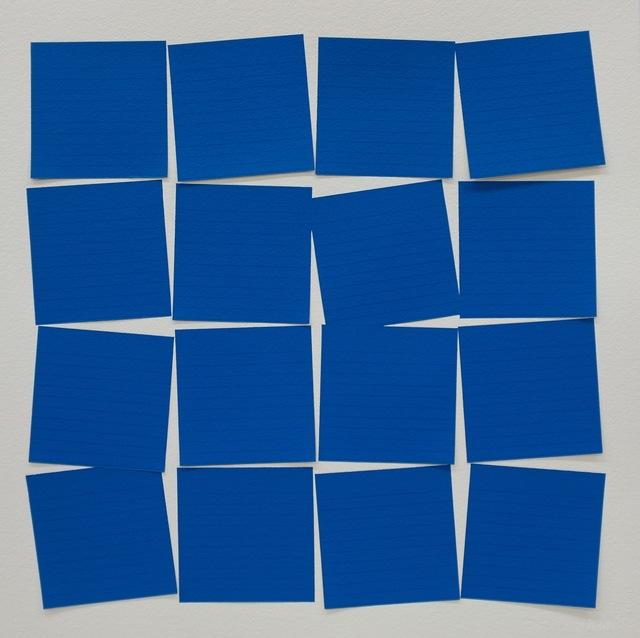 , 'Post-itesquema (Azul),' 2015, Galeria Leme