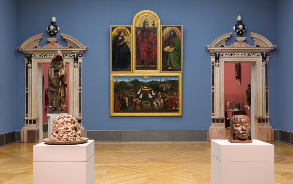 Incomparable: Art from Africa in the Bode Museum , exhibition view, © Staatliche Museen zu Berlin / David von Becker