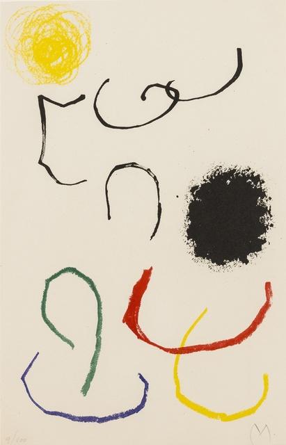 Joan Miró, 'Obra inèdita Recent. Composition XI (Mourlot 356)', 1964, Forum Auctions
