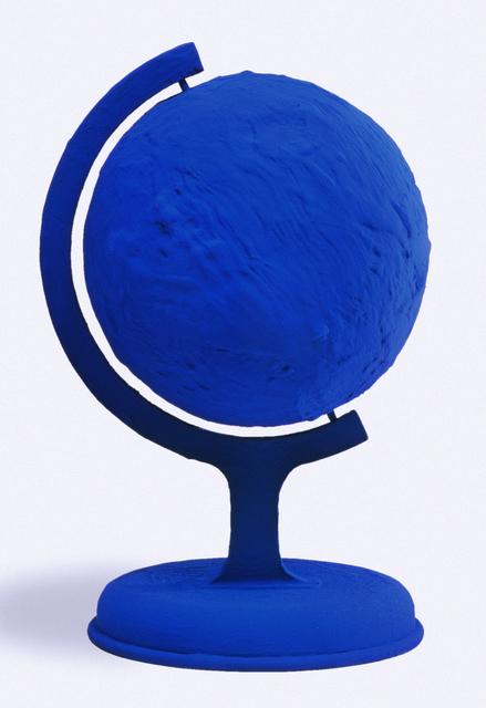 Yves Klein, 'GLOBE TERRESTRE BLEU (BLUE EARTH) RP 7', 1957, Gallery Art