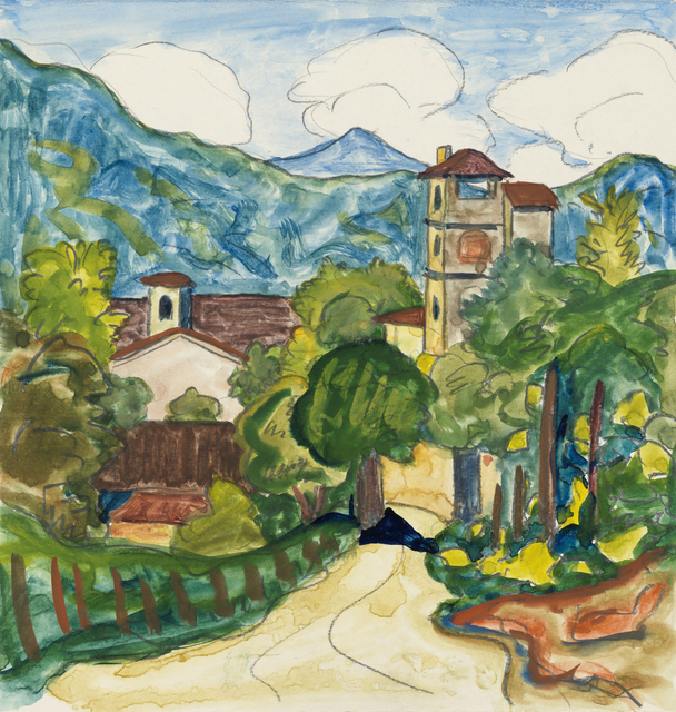 , 'Certenago,' 1927, Ludorff