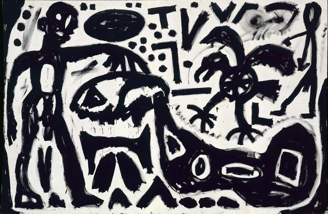 ", '""Skizze"",' 1983, Michael Werner Gallery"