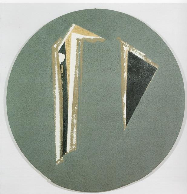 , 'Frontality and polychromy ,' 1990, Erica Ravenna Fiorentini Arte Contemporanea