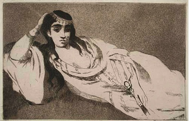 , 'Odalisque,' 1868, Galerie d'Orsay
