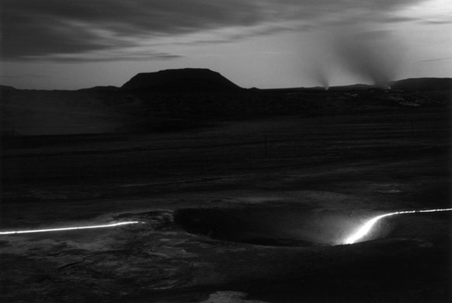 , 'Iceland Projekt (1/4),' 1992, Galerie Hollenbach