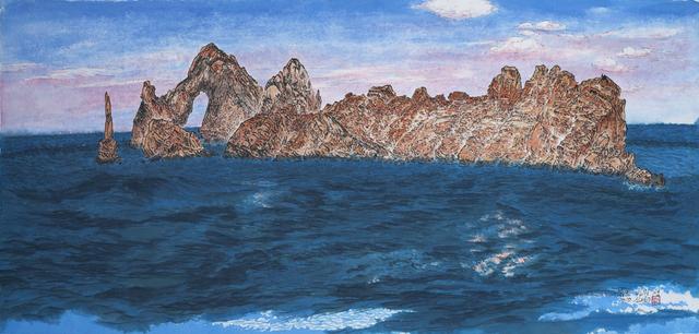 Tae Soo Shin, 'Red Rock Island', 2019, Artbit Gallery