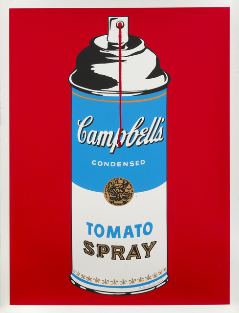 Mr. Brainwash, 'Tomato Spray', 2008, Print, Screenprint on paper, Julien's Auctions