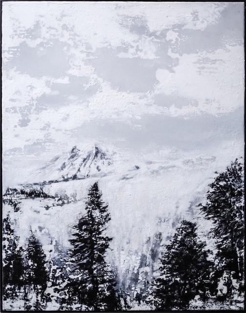 , 'Umwitterung eines Gebirges,' 2019, heliumcowboy