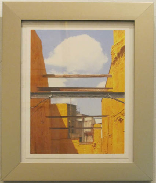 David Barnett, 'Homage to Rene Magritte-Across The Street from the Salvador Dali Museum, Kadesh, Spain  (close up)', 2009, David Barnett Gallery